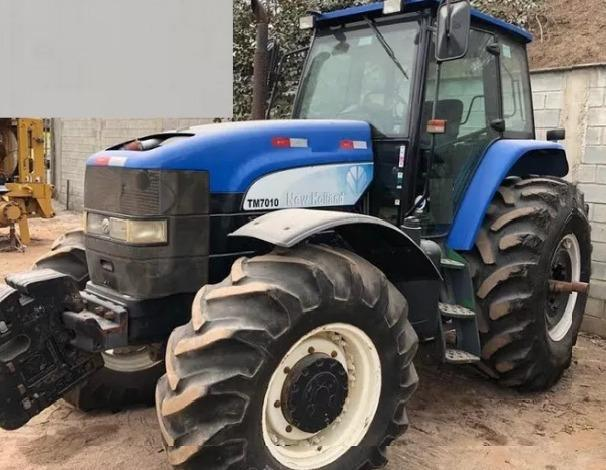 Trator agrícola new holland 7010 - 2013