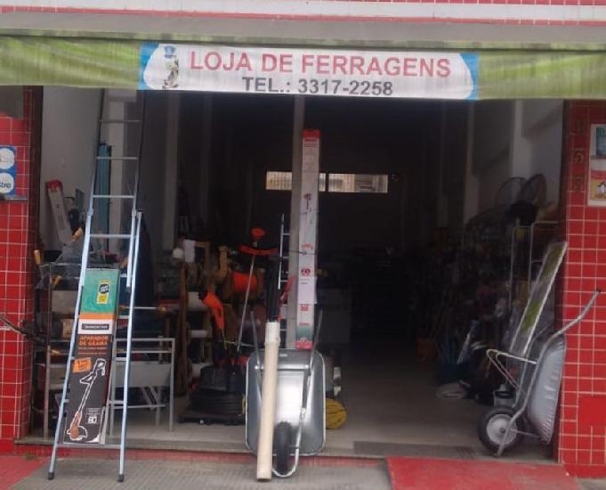 Vendo loja de ferragens (mat construção)