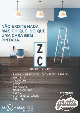 Z c pinturas em geral (''o r ç a m e n t o g r á t i s'')