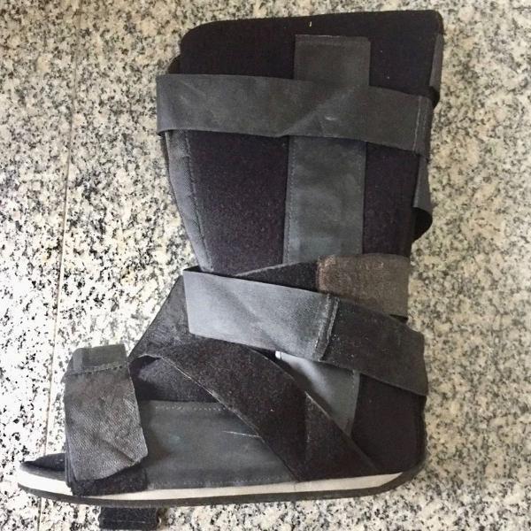 Bota robofoot imobilizadora ortopédica cano longo