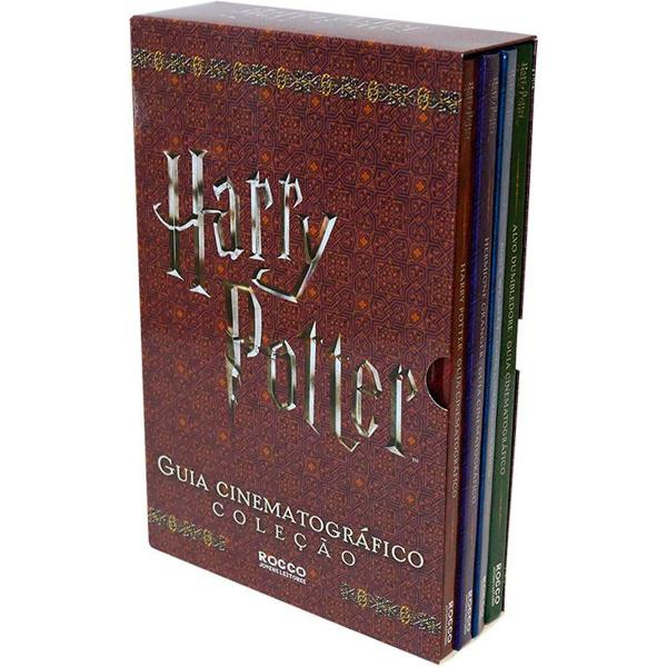Box livros harry potter coleção guia cinematográfico