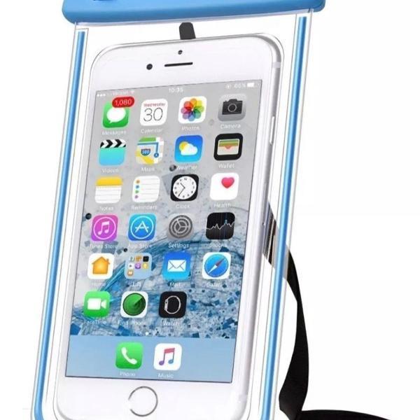 Capa bolsa celular a prova d água