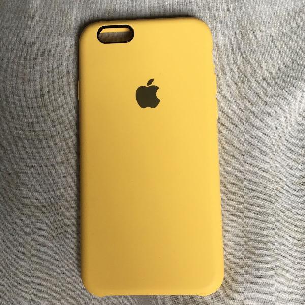 Capinha amarela original apple