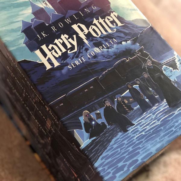Coleção completa dos livros do harry potter