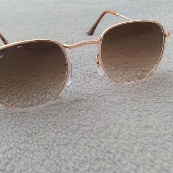 Culos de sol hexagonal vintage