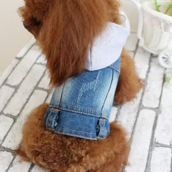 Jaqueta jeans pet