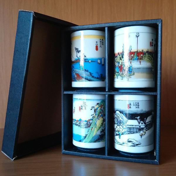 Jogo de copos para chá