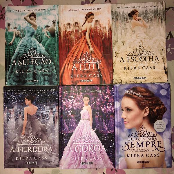 Kit livros a seleção - 6 livros - kiera cass