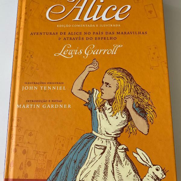 Livro alice no país das maravilhas e outros contos