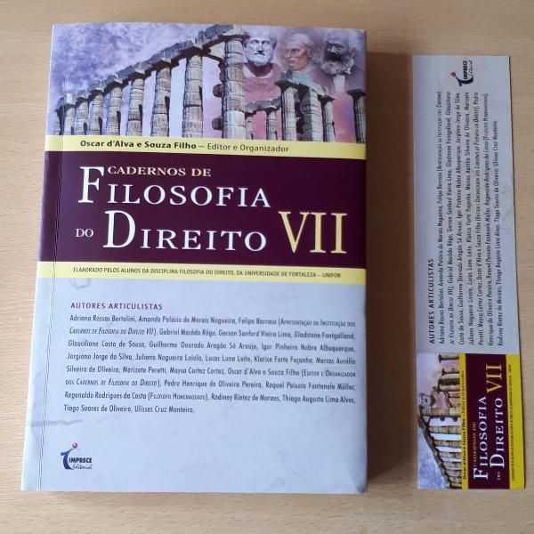 Livro - cadernos de filosofia do direito vii