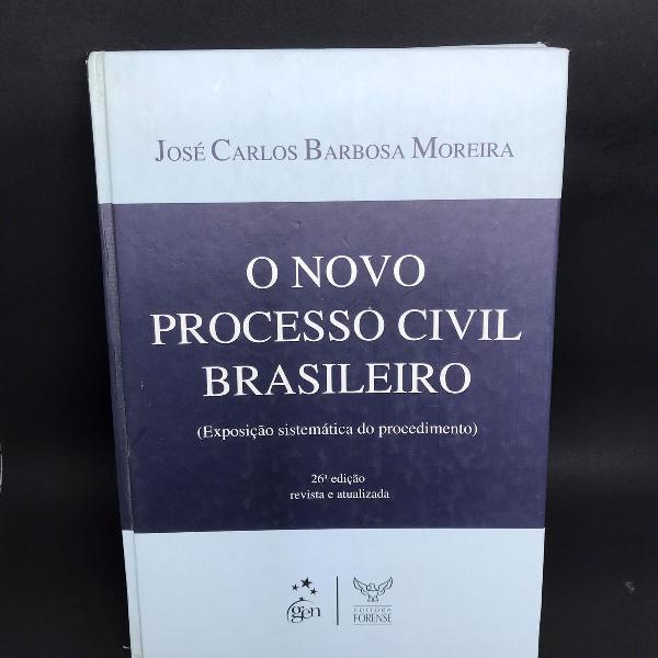 Livro o novo processo civil brasileiro 26ª edição