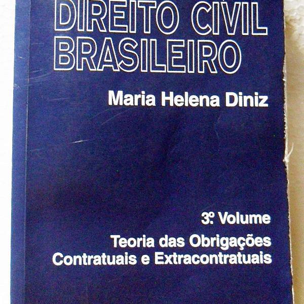 Livro teoria das obrigações contratuais e extracontratuais