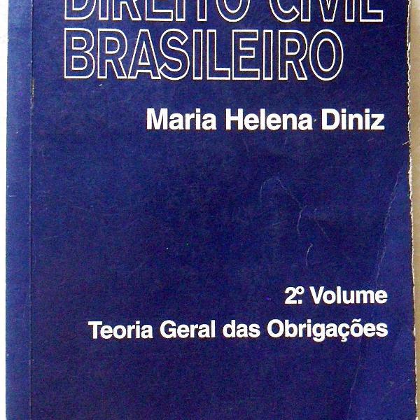 Livro teoria geral das obrigações 2 volume maria helena