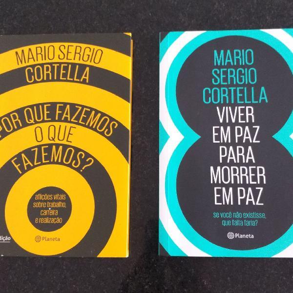 Livros mário sérgio cortella - kit 2 livros