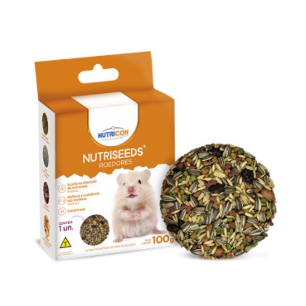 Mistura de sementes nutricon nutriseeds para roedores 100g