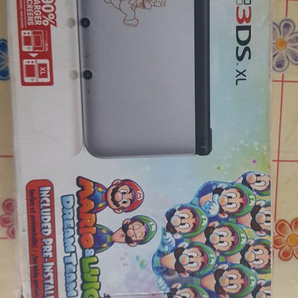 Nintendo 3ds xl limited edition: mario e luigi dream team