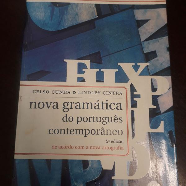 Nova gramática portuguesa celso cunha