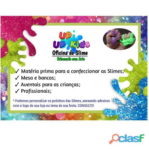 Oficina de slime up up kids