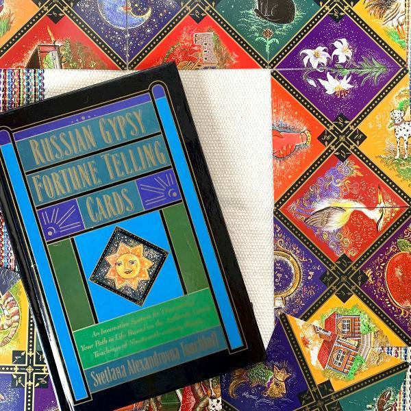 Russian gypsy fortune telling cards - oráculo da cigana