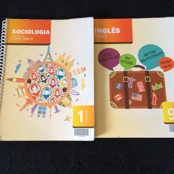Sociologia e ingles , ensino médio , livro único