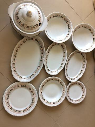 Aparelho de jantar schimith de porcelana trabalhada - 22