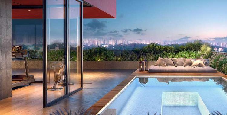 Apartamento a venda com 43m², 1 dormitório, 1 vaga em