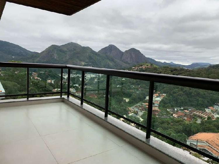 Cobertura duplex - alto braunes - melhor vista da serra