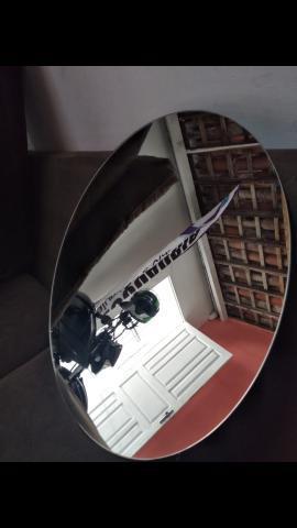 Espelho redondo novo