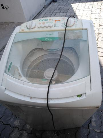 Lavadoras 7,5kg (conserto ou retirada de peças) 50,00