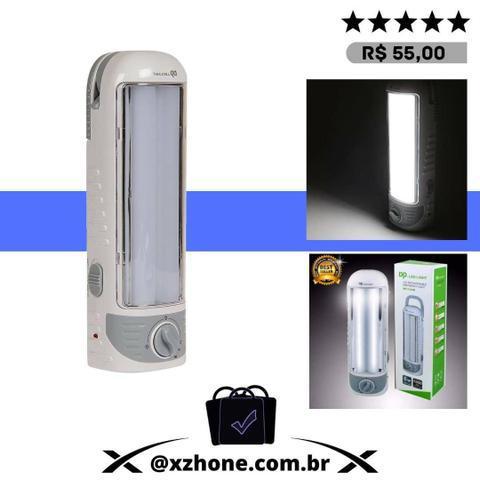 Luz de emergência dp-7105b branca dp led light