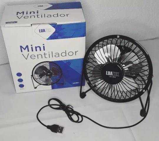 Novo) mini ventilador luatek