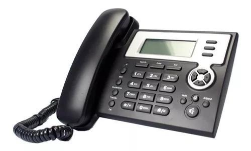5 telefones ip com 2 linhas voip (revisados, com garantia)