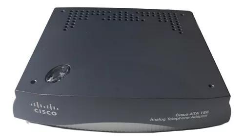 Adaptador telefone analógico cisco ata 186/188 novo na