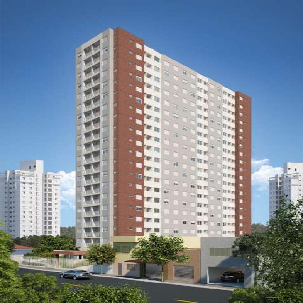 Apartamento 2 dormitórios sendo 1 suite com vaga e varanda