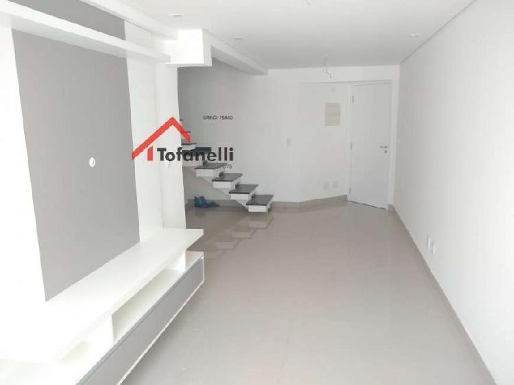 Apartamento cobertura duplex para aluguel em vila guiomar