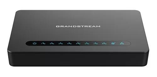 Ata grandstream ht818 8 fxs gigabit gateway voip c/ garantia