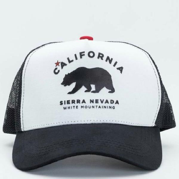 Boné estampa califórnia