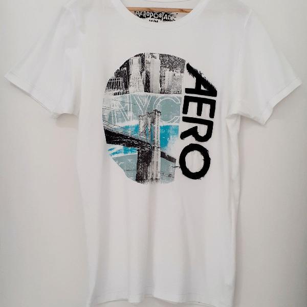 Camisa aeropostale branca