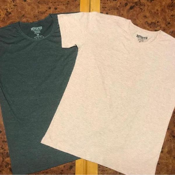 Camiseta masculina lisa - algodão 2020