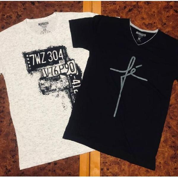Camisetas Masculinas Estampadas - Verão 2020