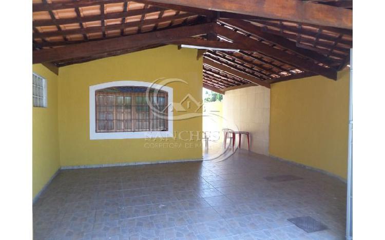 Casa 2 dormitórios sendo 1 suite em praia grande - jardim
