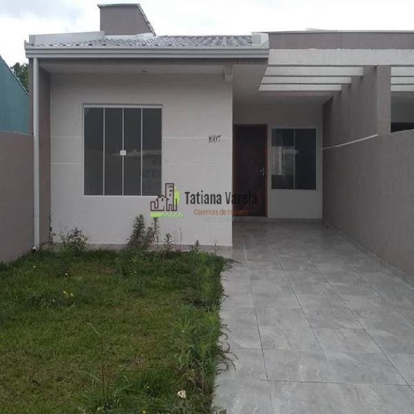 Casa para venda possui 60 metros quadrados com 3 quartos