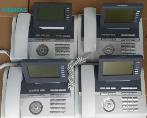 Kit 4 telelefone ip s/fonte openstage 40 hfa - unify si
