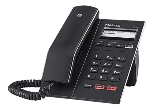 Kit c/ 9 telefone ip voip sip tip 125i poe intelbras c/ nf-e