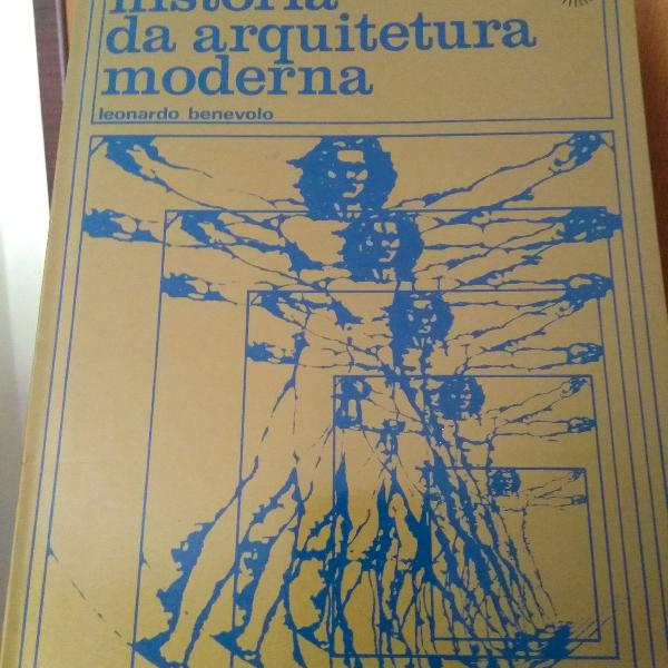 Livro história da arquitetura moderna