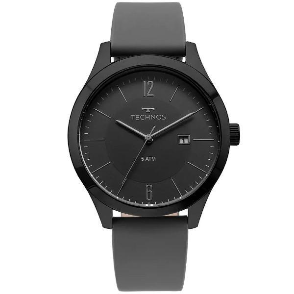 Relógio technos masculino steel preto - 2115mou/2p