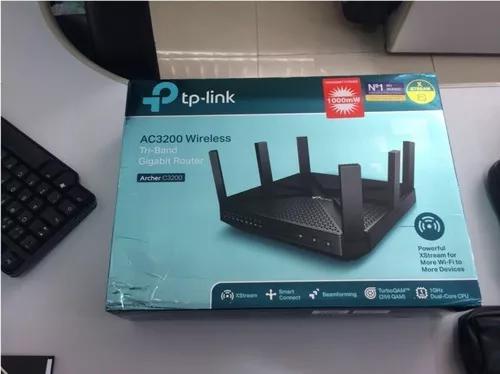 Roteador wireless gigabit tri-band ac3200 tp-link