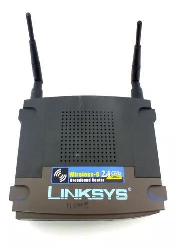 Roteador wireless linksys wrt54g 2.4 ghz full duplex a11669