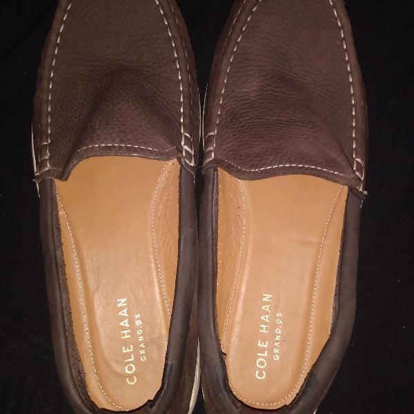 Sapatos cole haan grand os mocassim couro tam 41 r$439