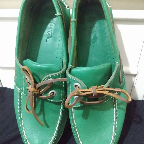 Sapatos foxton mocassim top sider couro tam 41 r$259